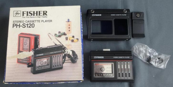 FISHER PH-S120 walkman Stereo cassette speler player