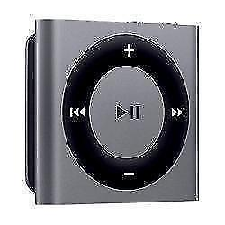 Apple iPod Shuffle 2 GB Spacegrijs