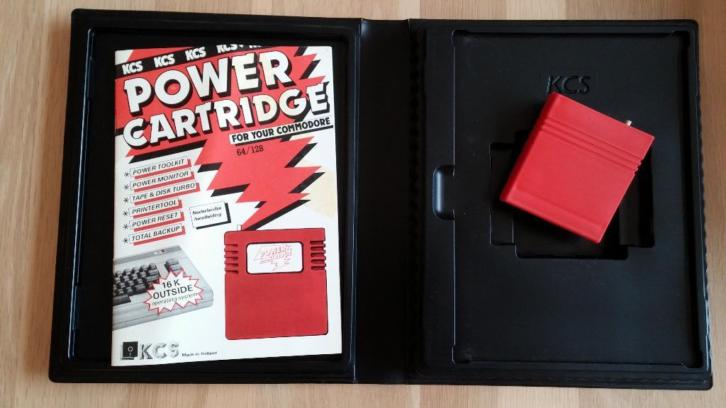Commodore 64/128 Power Cartridge