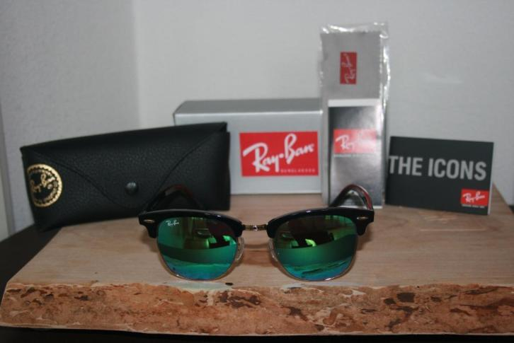 Ray Ban Clubmaster RB 3016 901/17 Blue INCL GARANTIE