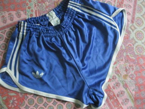 Adidas Vintage SATIN Football Shorts retro S