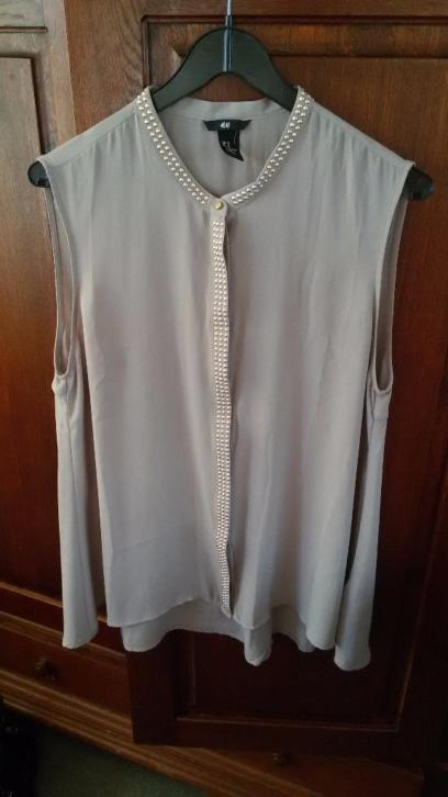 H&M blouse met strass