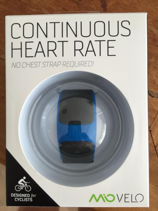 Mio velo heart rate