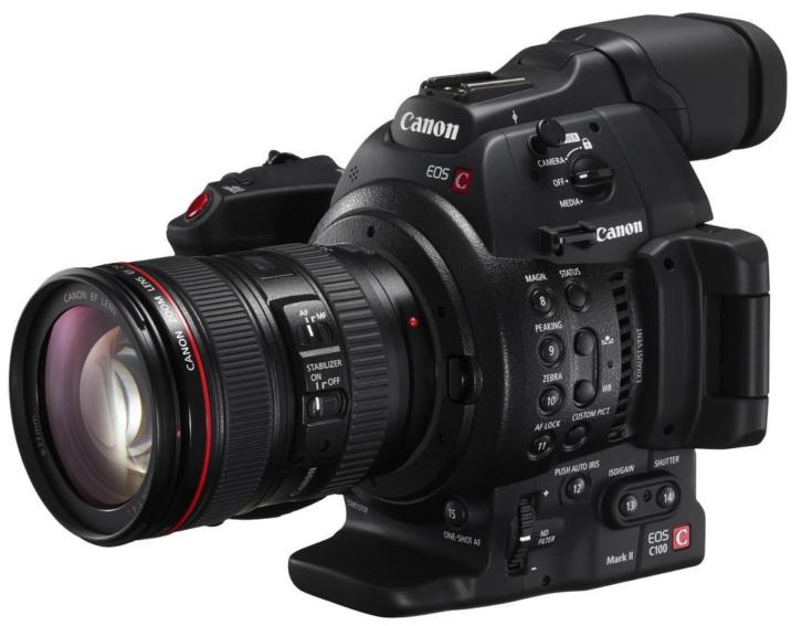 Canon EOS C100 Mark II Cinema Body