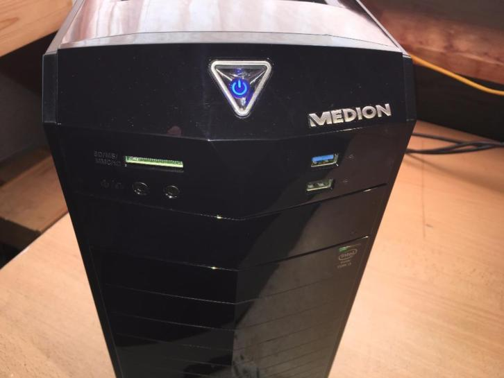 Allround Medion MT 22 i3-4160 / 8GB / 2TB / 1GB DDR5 GTX 750