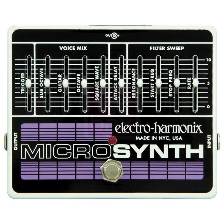 Electro Harmonix Micro Synthesizer effectpedaal