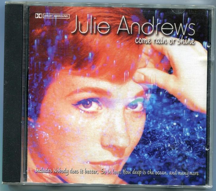 CD Julie Andrews - Come rain or shine