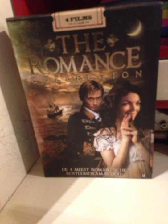 dvd box The Romance collection