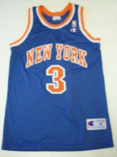 Basketbal shirt Starks nr 3 NBA team New York Knicks