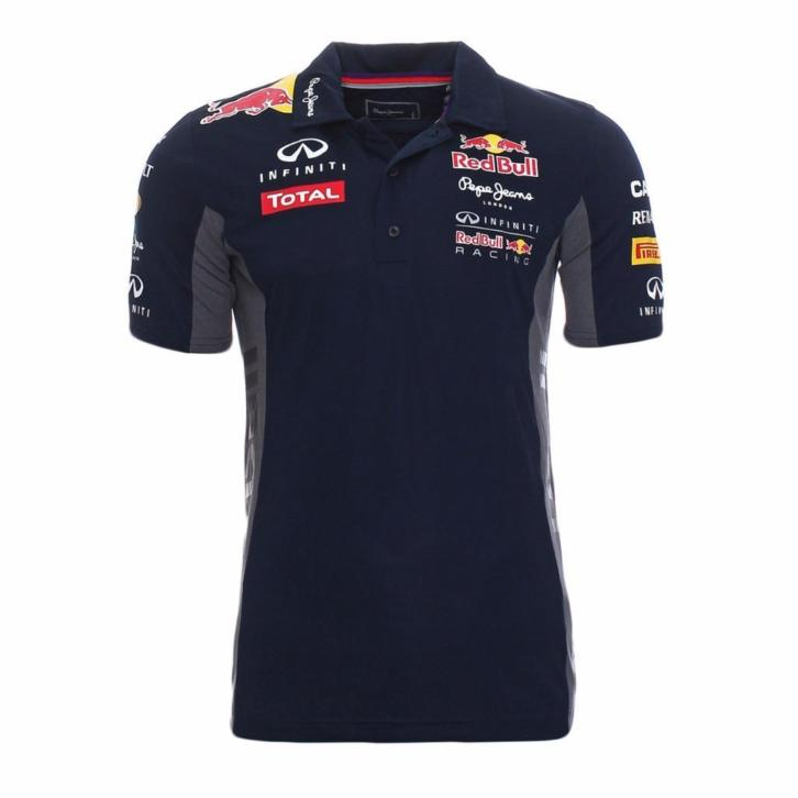 """Red bull racing team polo""""s mt S tot XXL"""