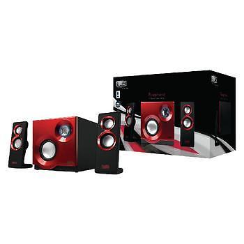 Sweex 2.1 Speakerset Purephonic 60 Watt Rood