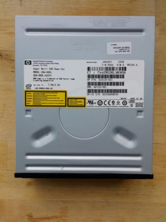 HP Super Multi DVD Rewriter GSA-H60L