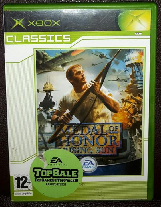 Medal Of Honor Rising Sun Classics xbox