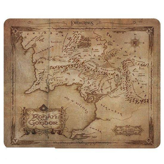 Lord Of The Rings Muismat Rohan & Gondor map