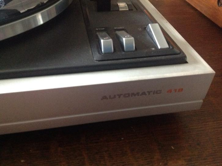 Philips pick up 418 automatic