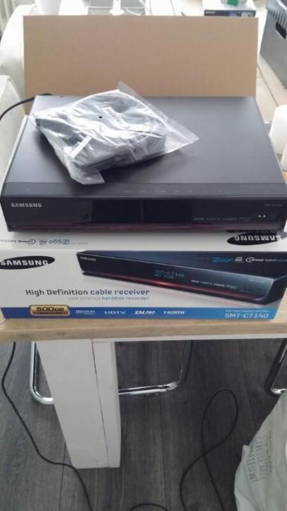 HD cable receiver van Samsung