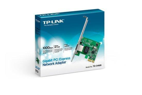 TP-Link TG-3468 - Gigabit PCI Express PCI Adapter - Netwe...