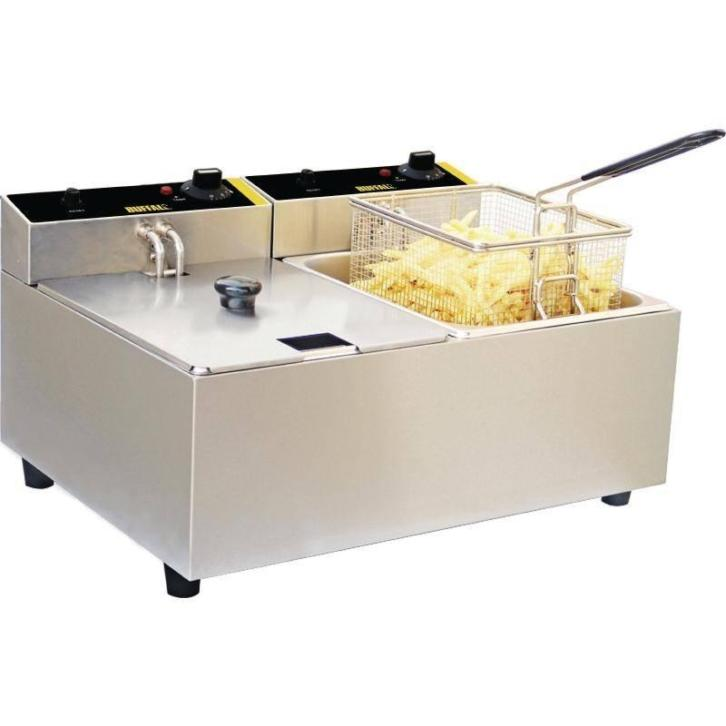 Friteuse compact - 5+5 liter