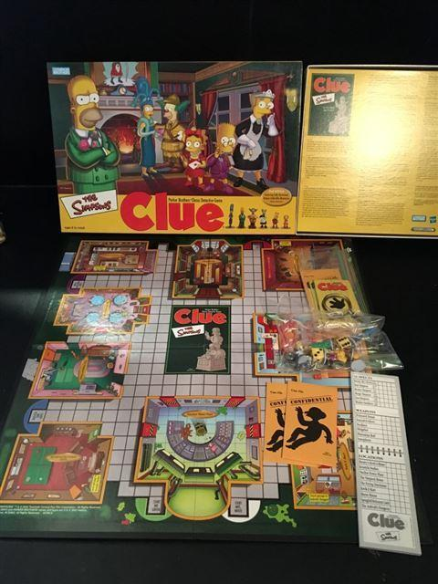 Cluedo the Simpsons