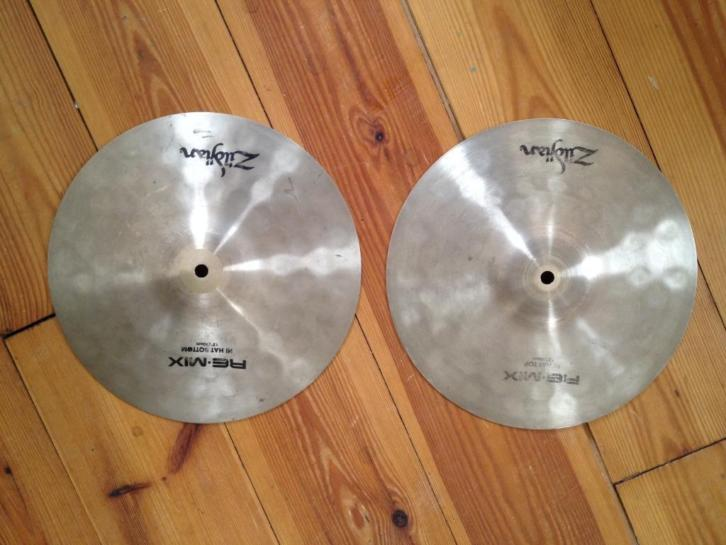 Zildjian Re-Mix hihats 12 inch