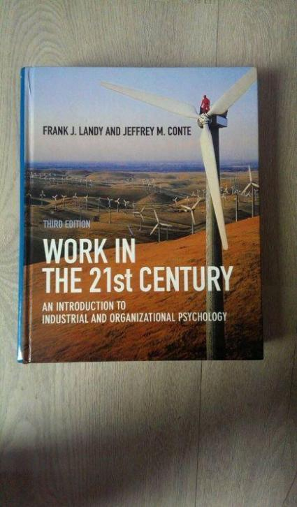 Work in the 21th Century