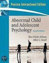 9780136087717 Abnormal Child And Adolescent Psychology