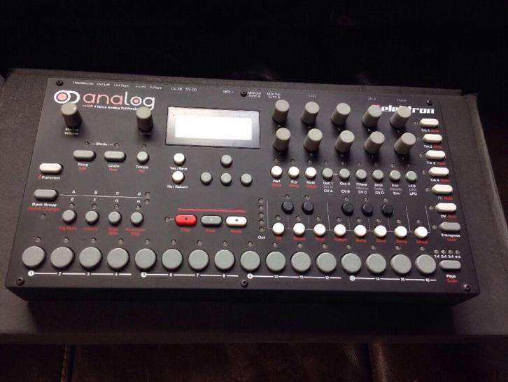 Elektron Analog Four 4-stemmige analoge synthesizer