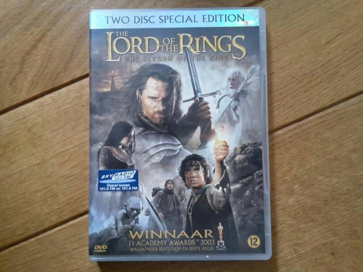 Dvdbox The lord of the rings - The return of the king