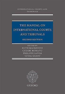 The manual on international courts and 9780199545278