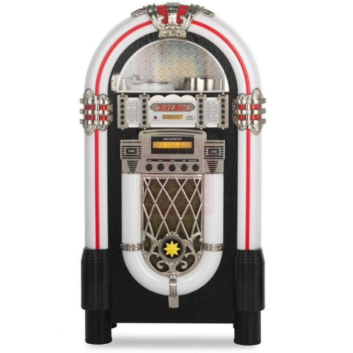 (B-stock) Ricatech RR950 retro jukebox v7
