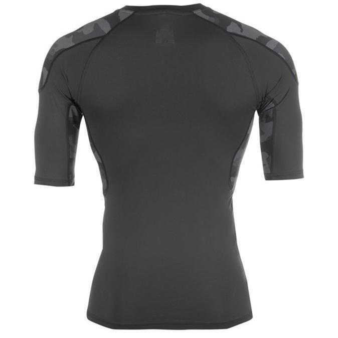 Lonsdale Training Comp Base Layer Topjeje Heren Antraciet/Ca