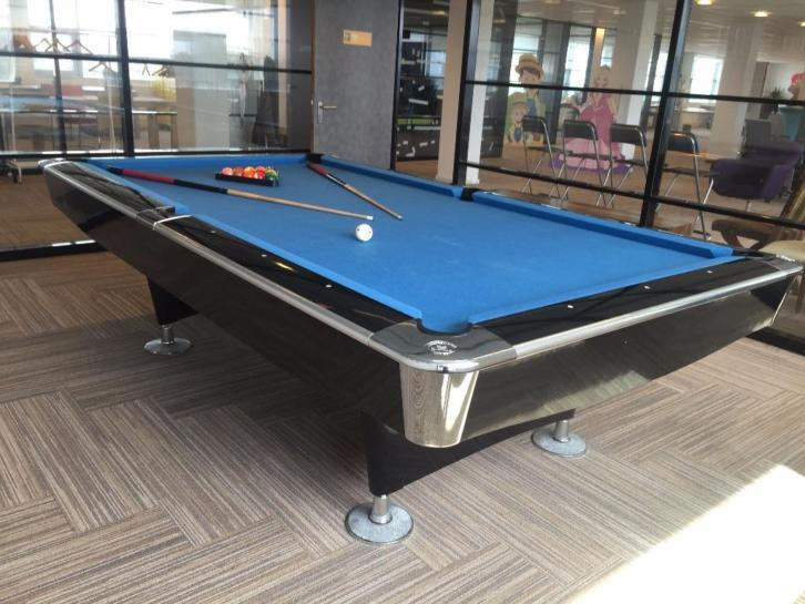 Pooltafel buffalo pro 2 II 9ft zwart drop