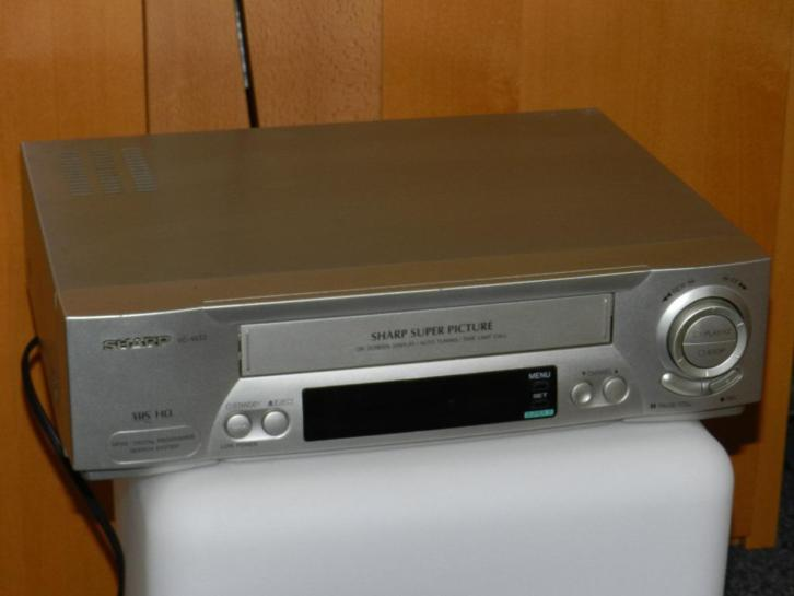 Sharp videorecorder
