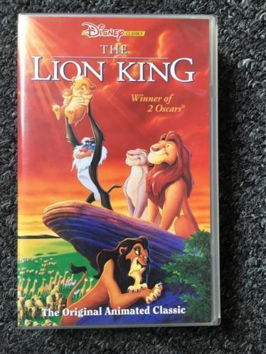 Disney video The Lion King (Engels)