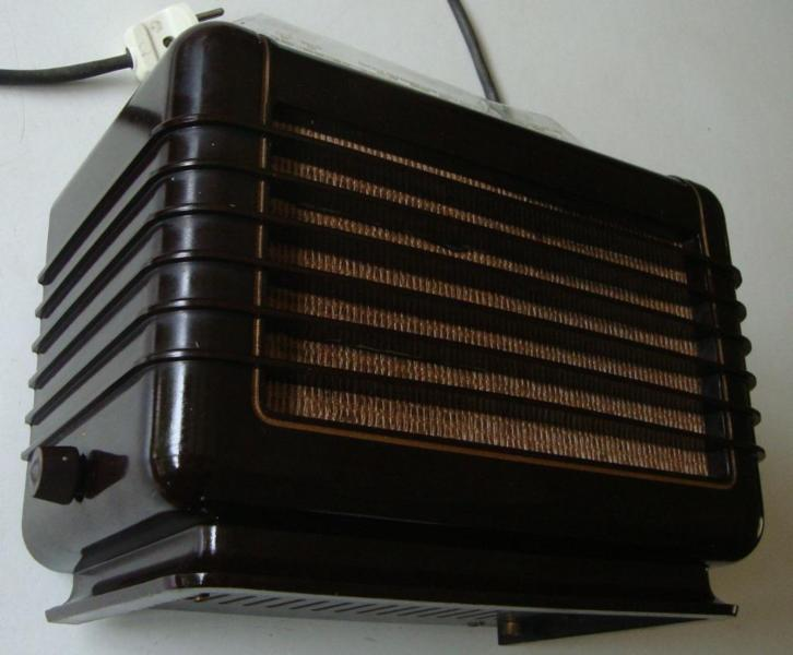 Bakelieten Philips radio