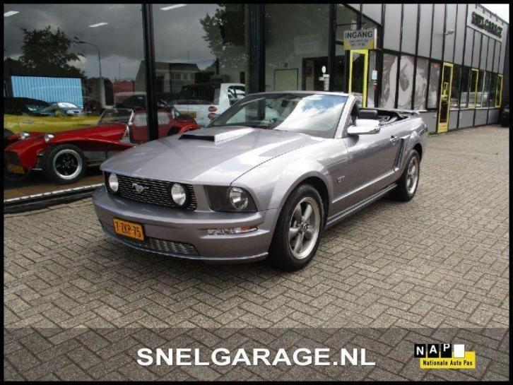 Ford USA Mustang cabrio 4.6 GT (bj 2006 automaat)