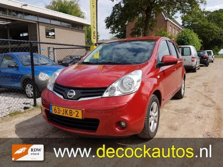 Nissan Note 1.6 acenta AUTOMAAT (bj 2009)