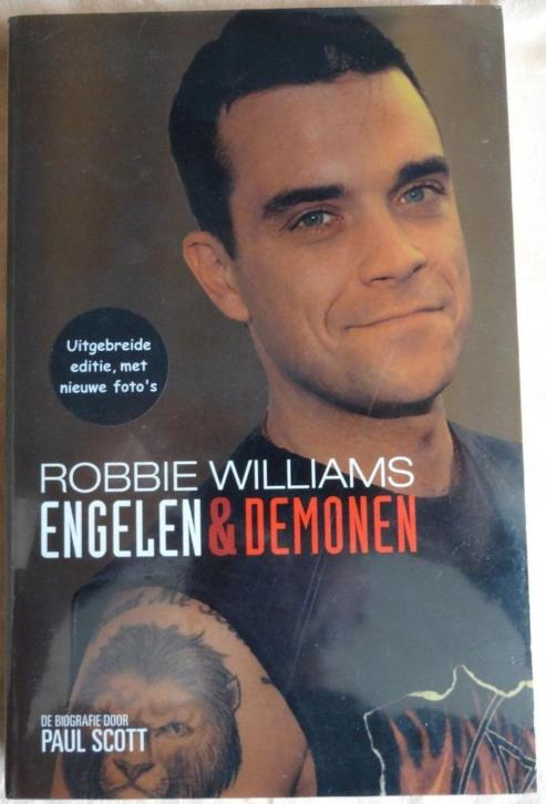ROBBIE WILLIAMS Engelen & demonen NIEUW NEW SEALED