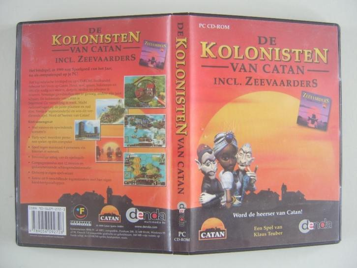 De Kolonisten van Catan Incl. Zeevaarders PC CD-ROM