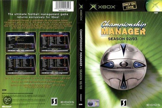 Championship Manager 2002/2003 | Xbox | iDeal