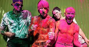 Red Hot Chili Peppers Collector Tickets! 9-11 Ziggo Dome