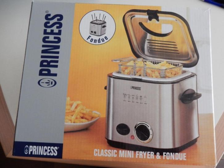 Princess mini friteuse