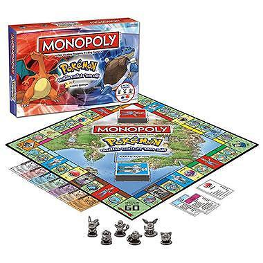 Monopoly Pokémon Kanto edition - bordspel