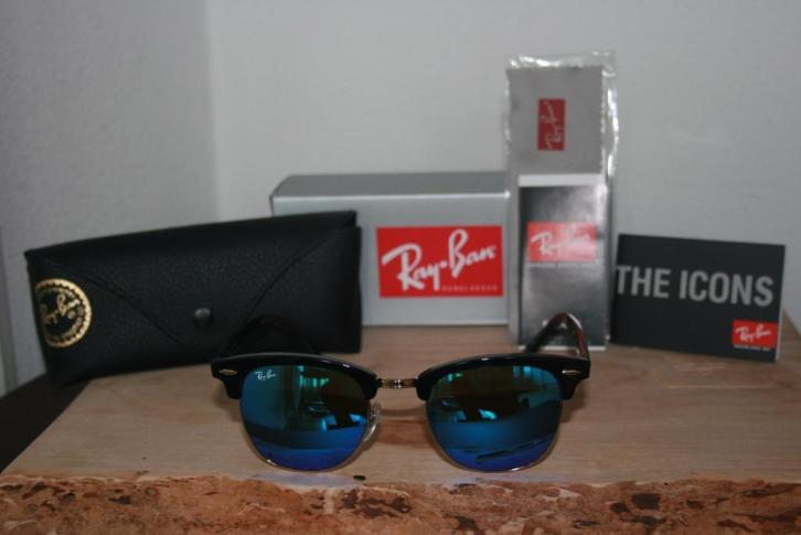 Ray Ban Clubmaster RB3016 Mirror Unisex