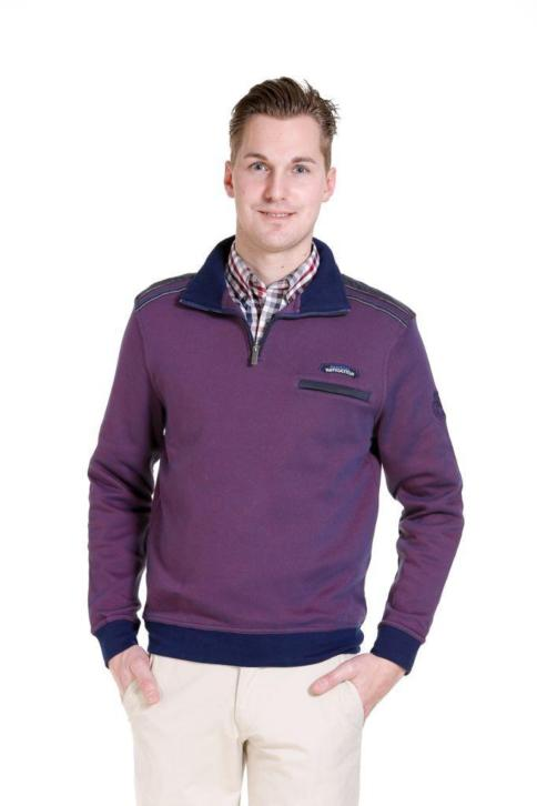 Meantime sweater, paars