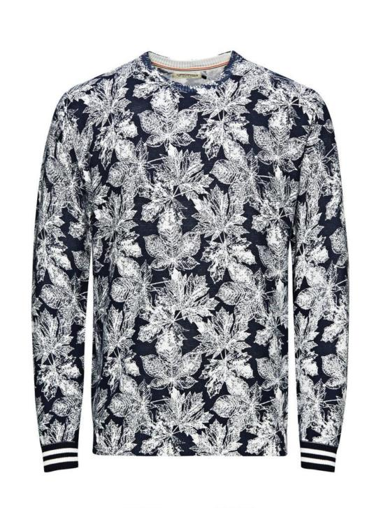 Jack en Jones originals Andrew trui, navy