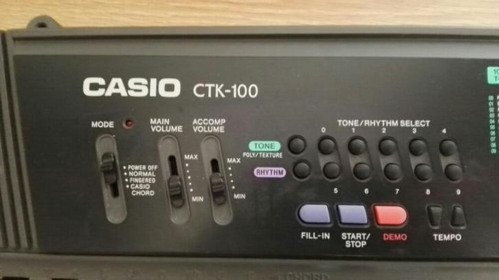 Casio CTK-100 keyboard