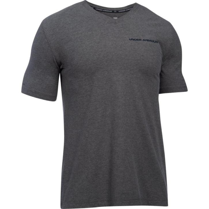 Under Armour Charged Cotton® V-Neck Short Sleeve Tee