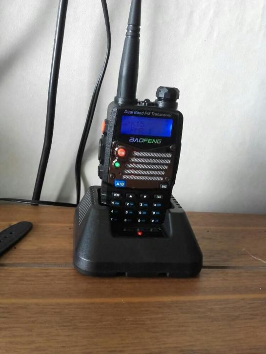 portofoon ( Boafeng uv-5R+ dual band FM transceiver )