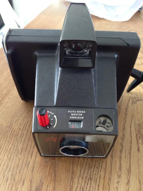 Polaroid zip camera